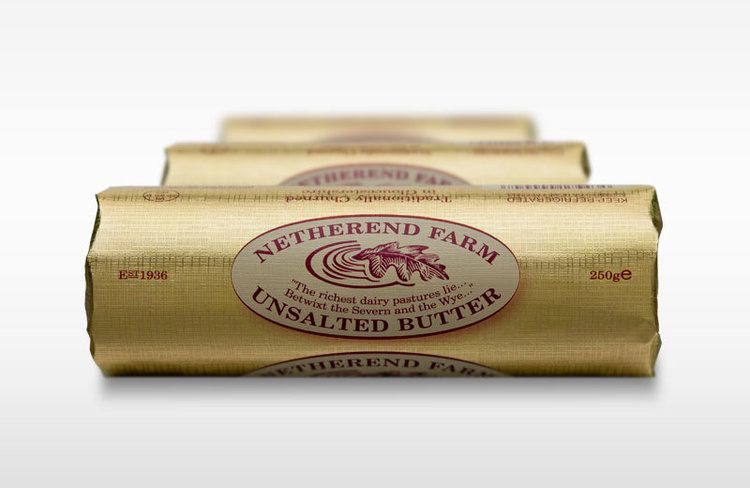 Netherend Farm English Unsalted Butter