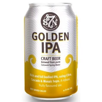 S7N Golden IPA - 330ml Can