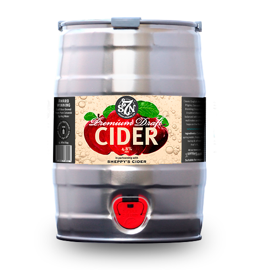 S7N Mini Keg 5L Premium Draft Cider